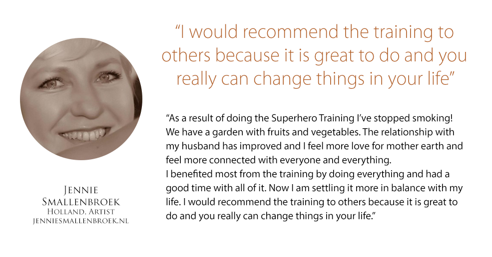 Superhero Success Training