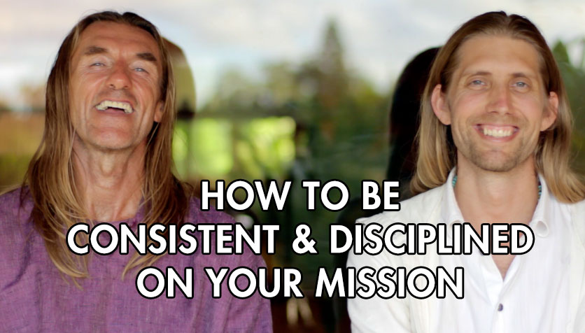 How to be consistent & Disciplined on your mission and not give up…